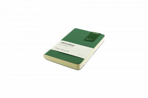 Zequenz The Color Notizbuch A6- Jadegrün