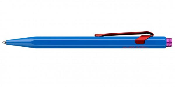 Caran d'Ache 849 Claim Your Style ballpoint pen cobalt blue