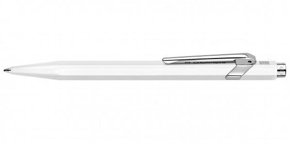 Caran d'Ache 849 Classic Line Kugelschreiber Weiß