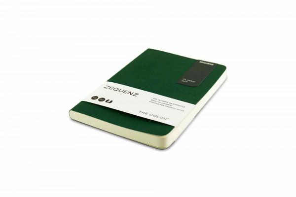 Zequenz The Color Notizbuch B6 Smaragdgrün