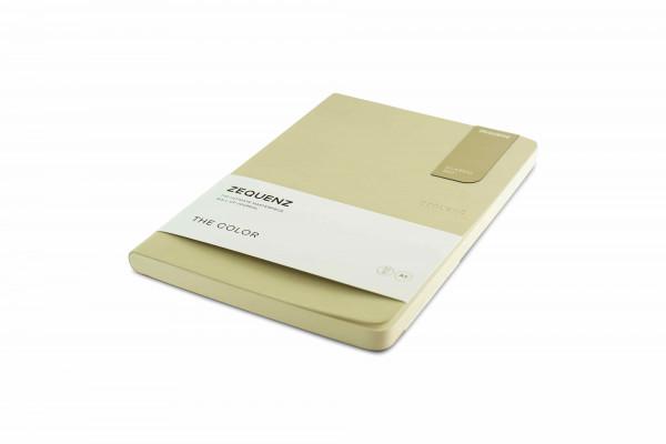 Zequenz The Color Notizbuch A5 Beige Braun