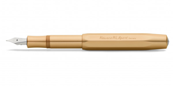 Kaweco Al Sport fountain pen Gold Edition