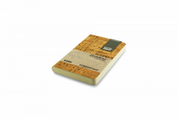 Zequenz Cork Lite notebook A6- Cleanstyle natural B
