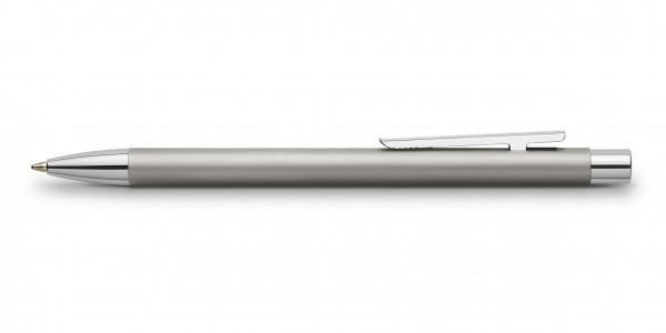 Faber-Castell Neo Slim Edelstahl Kugelschreiber Matt
