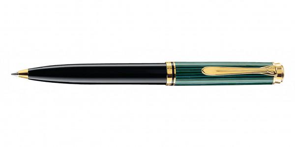Pelikan Souverän 600 Kugelschreiber Schwarz Grün
