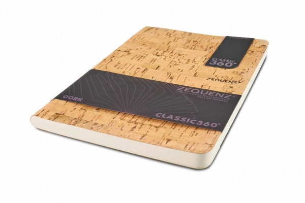 Zequenz Cork Notizbuch 360 Natural B A5 Lite 14.8x21 cm