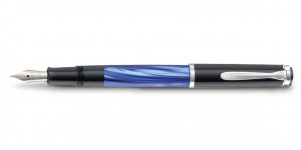 Pelikan Classic 205 Kolbenfüllhalter Blau Marmoriert
