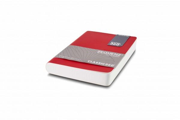 Zequenz Signature Notizbuch 360 Rot A6