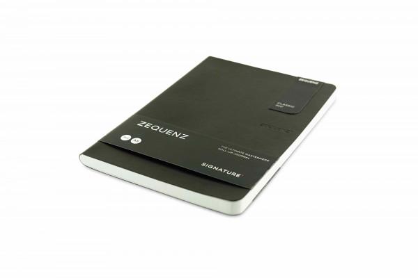 Zequenz Signature Lite 360 Notizbuch A5 Schwarz