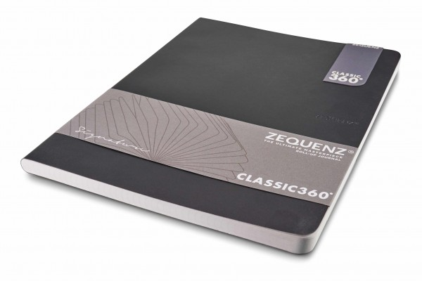 Zequenz Signature notebook 360 black B5