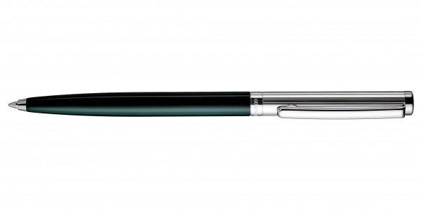 Otto Hutt Entwurf 01 Kugelschreiber Streifen Guilloche Grün