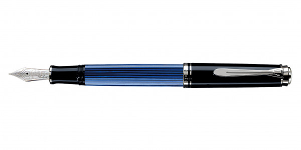 Pelikan Souverän 805 piston fountain pen black blue