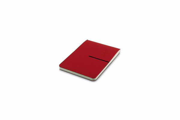 Zequenz Everyday Diary 7.5 x 10 cm Red
