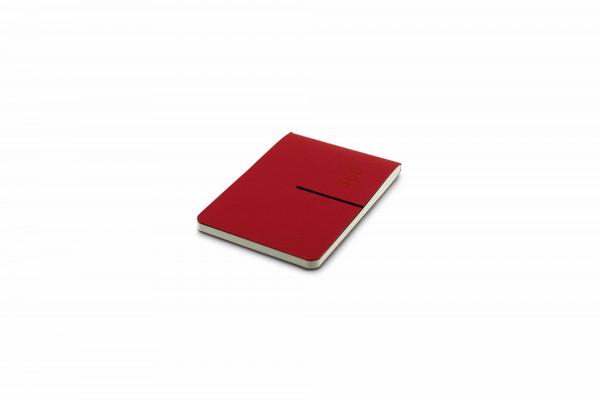 Zequenz Everyday Kalender 7,5 x 10 cm Rot