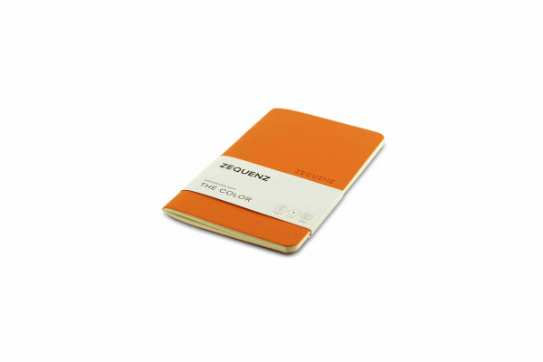 Zequenz The Color Notizbuch Professional Note Aprikosen Orange