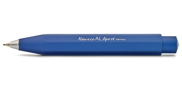 Kaweco AL Sport push pencil 0,7 mm blue