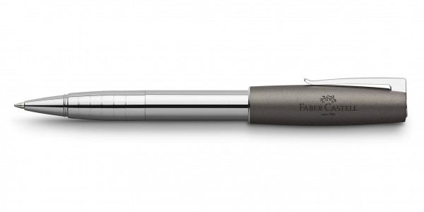 Faber-Castell Loom Metallic Tintenroller Grau