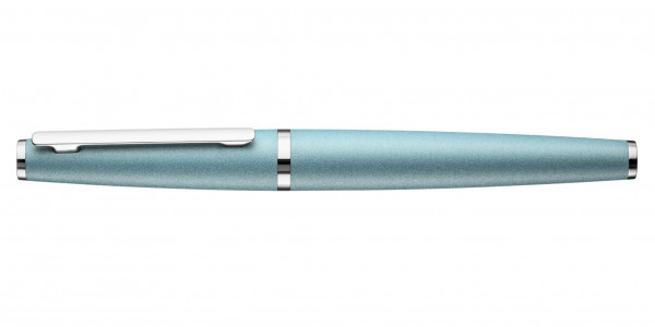 Otto Hutt Design 06 rollerball arctic blue closed