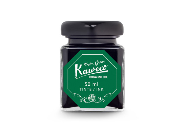 Kaweco Tintenglas Palmen Grün 50 ml