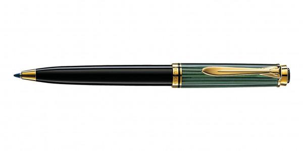 Pelikan Souverän 300 ballpen black green