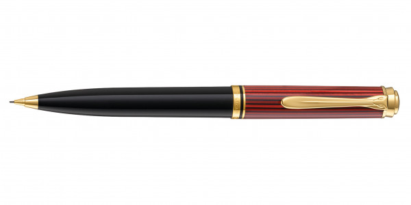 Pelikan Souverän 600 Drehbleistift Schwarz Rot
