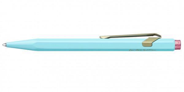 Caran d'Ache 849 Claim Your Style Ballpoint Pen Pale Blue
