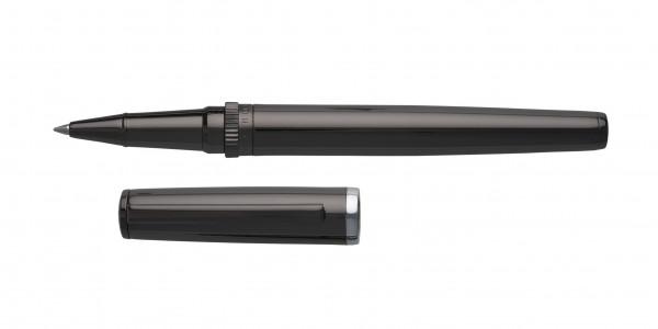 Hugo Boss GEAR Tintenroller Metal Dark Chrome