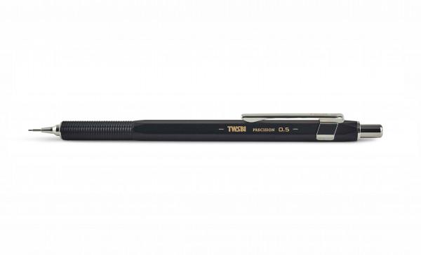 TWSBI Precision Druckbleistift Schwarz 0,5 mm