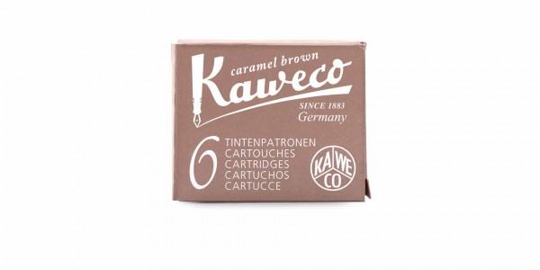 Kaweco Tintenpatronen Karamel Braun