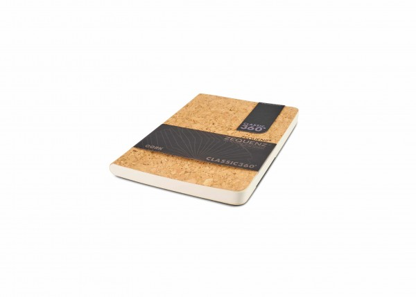 Zequenz Cork Lite Notizbuch B6 Wildstyle natural A