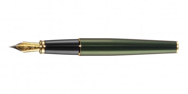 Diplomat Excellence A2 Füllhalter Evergreen Vergoldet Stahlfeder