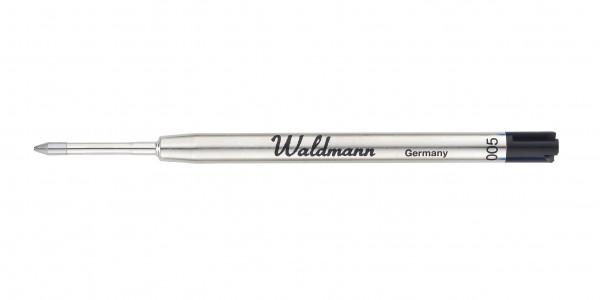 Waldmann Kugelschreiber Mine Schwarz