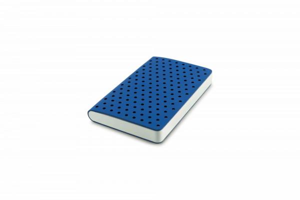 Zequenz Air 360 Notizbuch A6- Dynamisches Blau Gepunktet