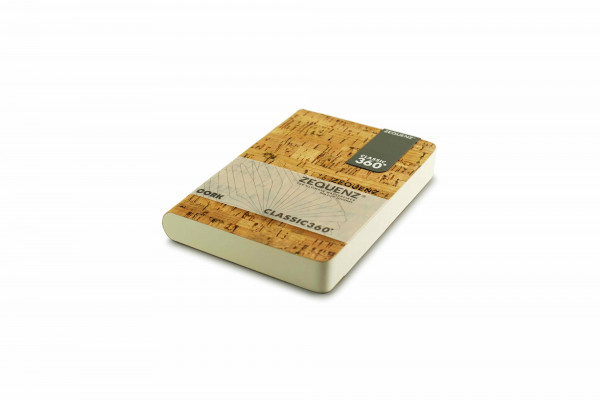Zequenz Cork Classic notebook A6 Cleanstyle natural B